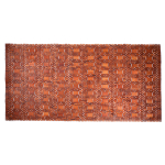 Entryways Mills Natural Exotic Mangaris Wood Rug, 36 X 71 Inch