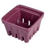 Artland Purple Ceramic Berry Fruit Basket