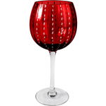 Artland Cambria Ruby Goblet Wine Glass, 18 Ounce