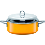WMF Passion Colors Crazy Yellow Stewpot with lid, 6.5 Quart