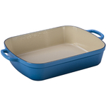 Le Creuset Signature Marseille Enameled Cast Iron 5.25 Quart Rectangular Roaster