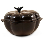 Le Creuset Truffle Enameled Cast Iron Pumpkin-Shaped Cocotte, 2.25 Quart