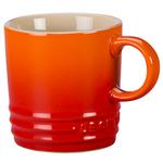 Le Creuset Flame Stoneware 3.5 Ounce Petite Espresso Mug