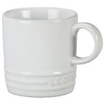 Le Creuset White Stoneware 3.5 Ounce Petite Espresso Mug