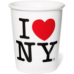 Ceramic I Love NY 9 Ounce Coffee Cup