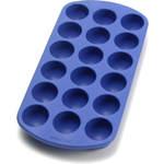 Lekue Gourmet Blue Rubber Round Ice Cube Tray