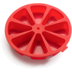 Lekue Red Silicone Portion Cake Mold