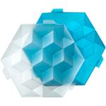 Lekue Blue Plastic Giant Ice Cube Tray