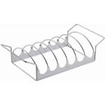 Rosle Stainless Steel 17 Inch Reversible Rib and Roast Rack