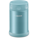 Zojirushi Aqua Blue 18/8 Stainless Steel Food Jar, 17 Ounce