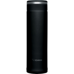 Zojirushi Black Stainless Steel Travel Mug, 16 Ounce
