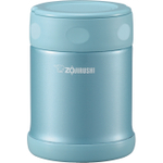 Zojirushi Aqua Blue 18/8 Stainless Steel Food Jar, 12 Ounce