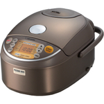Zojirushi Brown Stainless Steel Induction Heating Pressure Rice Cooker & Warmer, 5.5 Cup