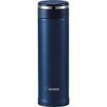 Zojirushi Deep Blue Stainless Steel Travel Mug with Tea Leaf Filter, 16 Ounce