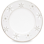 Lenox Federal Platinum Snowflake Accent Plate