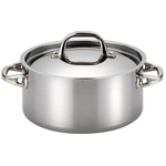 Anolon Tri-Ply Clad Covered Dutch Oven, 5 Quart
