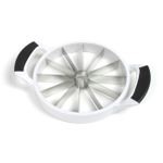 Norpro Grip-EZ White Plastic and Stainless Steel Melon Cutter
