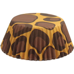 Foxrun Leopard Standard Baking Cup, Set of 50
