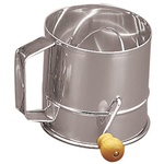 Foxrun Stainless Steel Flour Sifter, 3 Cup