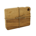 Foxrun 2 Piece Ironwood Acacia Wood Mini Cutting Board Set