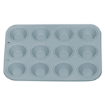 Foxrun Nonstick Steel Ribbed Tart and Muffin Pan