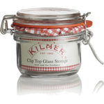 Kilner Glass Round Clip Top Jar, 4 Ounce