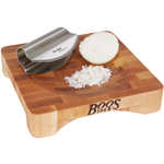 John Boos Mezzaluna Herb Bowl with Rocker Knife, 10 x 10 Inch