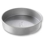 USA Pan Round Aluminized Steel Cake Pan, 10 Inch