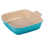 Le Creuset Heritage Caribbean Stoneware 9 Inch Square Baking Dish