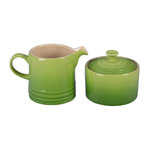 Le Creuset Palm Stoneware Cream and Sugar Set