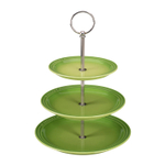 Le Creuset Palm Stoneware 3 Tiered Server, 14.5 Inch