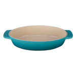 Le Creuset Caribbean Stoneware Oval Baking Dish, 3.5 Quart