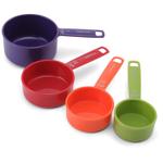 Farberware Mixed Colors Measuring Cups, Set of 4