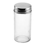 Gemco Glass Spice Jar, 3 Ounce