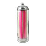 Gemco Junior Glass Straw Dispenser with Straws