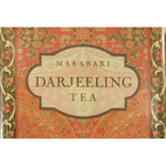 Melamine Darjeeling Tea Medium Footed Serving Tray with Handles