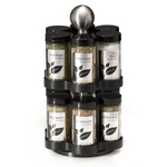 Kamenstein 12 Jar Madison Stainless Steel Spice Rack