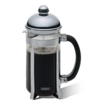Bonjour Maximus Brushed Stainless Steel French Press, 8 Cup