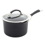 Circulon Symmetry Hard Anodized Aluminum Covered Straining Saucepan, 3.5 Quart