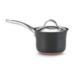 Anolon Nouvelle Copper Covered Saucepan, 2 Quart