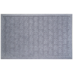 Entryways Weather Beater Geometric Pattern Mat, 22 x 35 Inch