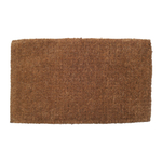 Entryways Blank Extra Thick Hand Woven Coir Doormat, 18 x 30 Inch
