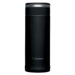 Zojirushi Black Stainless Steel Travel Mug, 12 Ounce