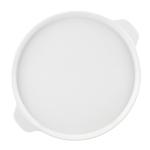 Mario Batali by Dansk White Stoneware Pizza Pan, 12 Inch