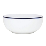 Dansk Bistro Christianshavn Blue Porcelain Large Serving Bowl, 64 Ounce