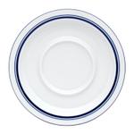 Dansk Christianshavn Blue Porcelain Saucer, 7.25 Inch