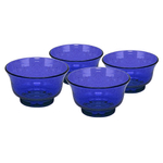 Artland Iris Cobalt Blue 4.75 Inch Cereal Bowl