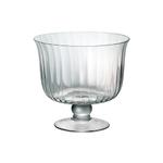 Artland Aspen Glass Trifle Bowl, 8.5 Inch