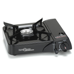 Jaccard Home 'N Away Black Portable Butane Stove