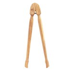 Berard Olive Wood Tongs, 10 Inch